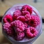 Vegan Raspberry morning smoothie