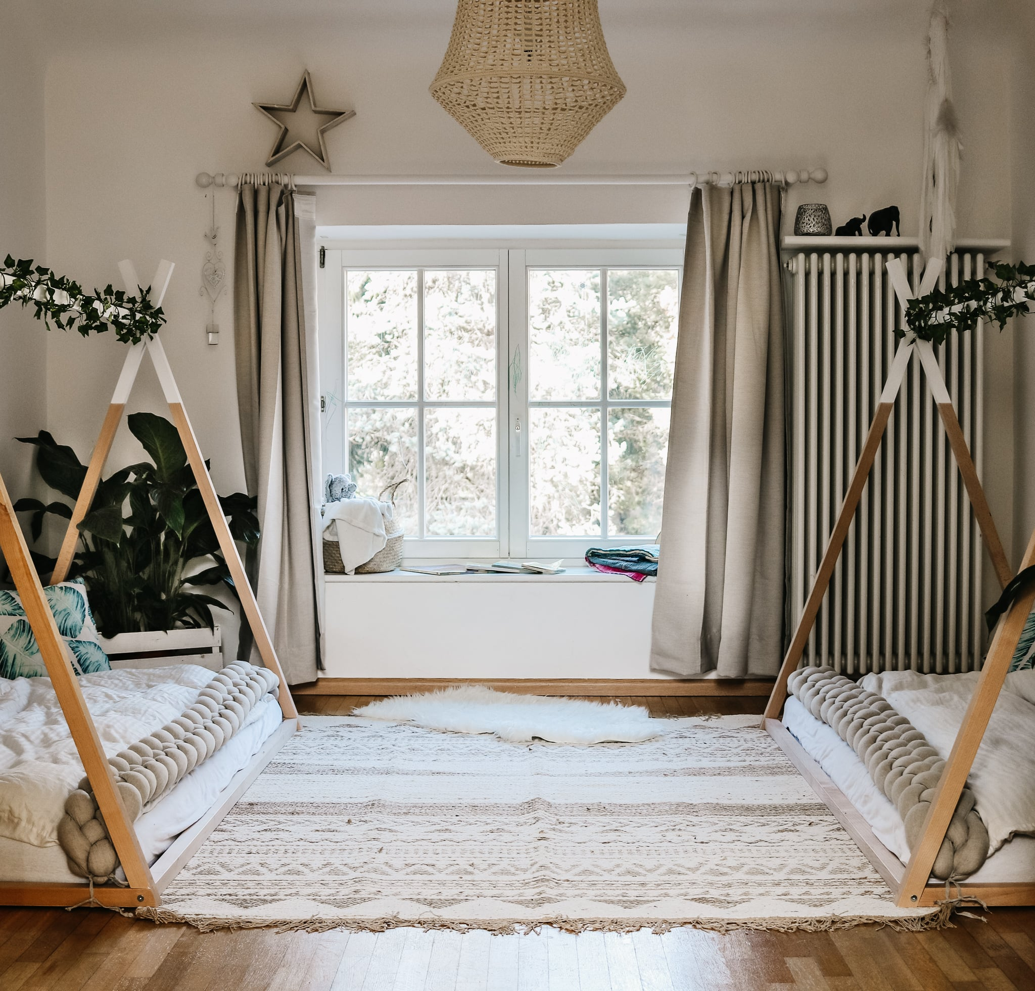 Montessori Inspired Toddler Bedroom