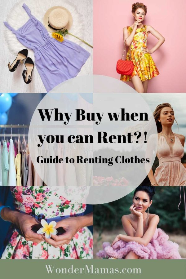 Guide to Renting Clothes