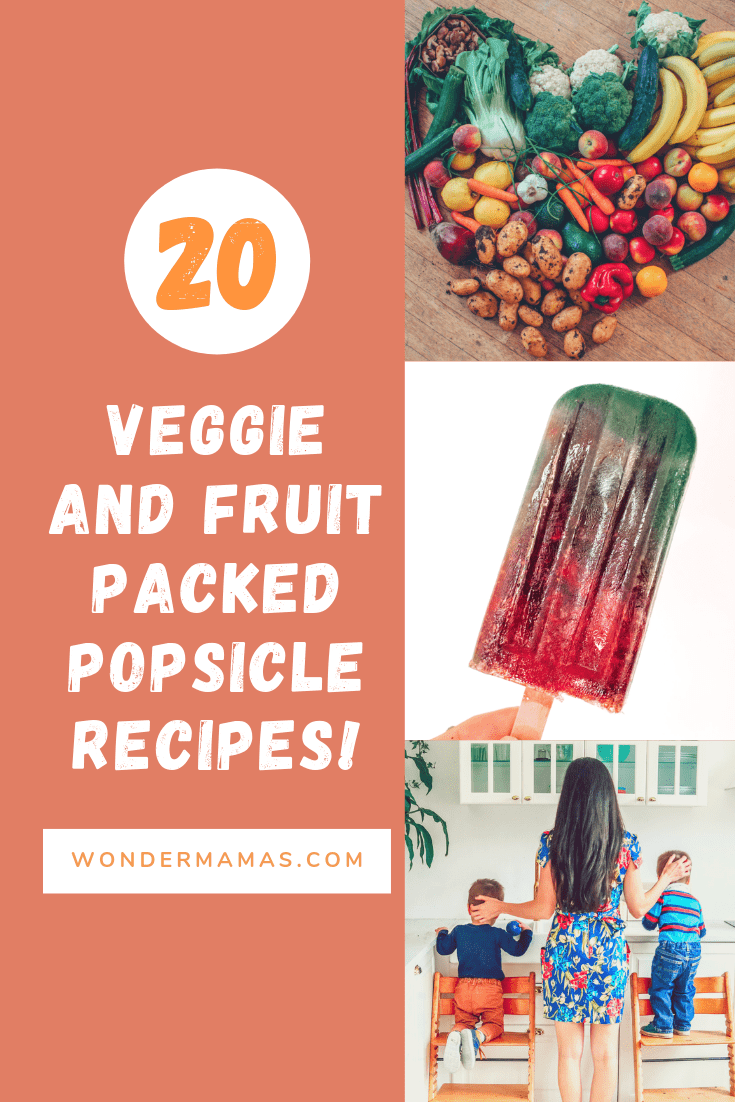 20 veggie and fruit popsicle recipes