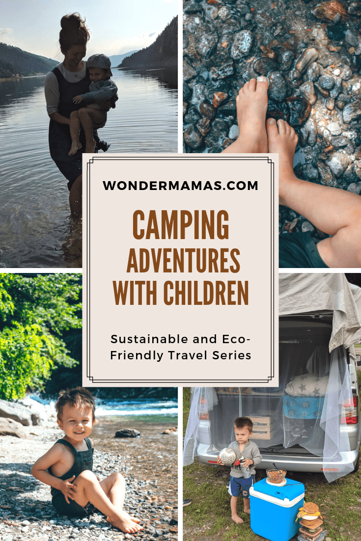 CAMPING ADVENTURES WITH CHILDREN