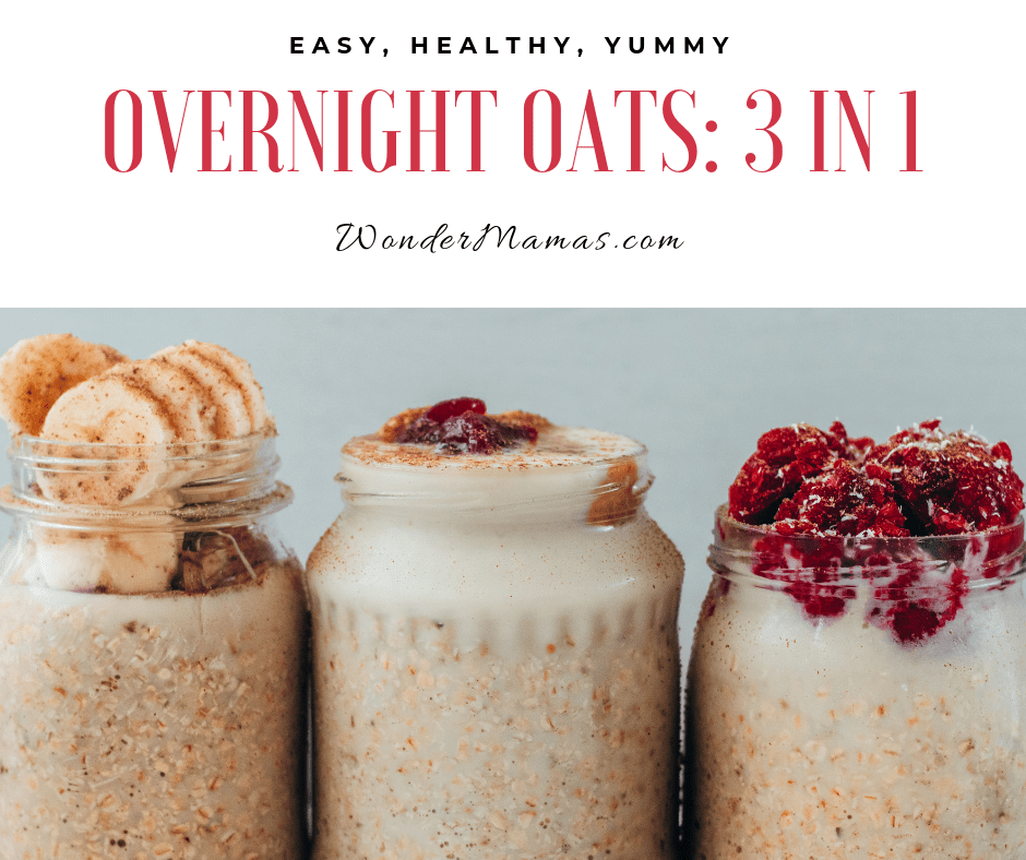 3 Easy and Delicious Vegan Overnight Oats