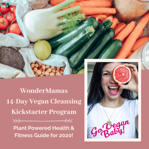 WonderMamas 14-Day Vegan Cleansing Kickstarter Program