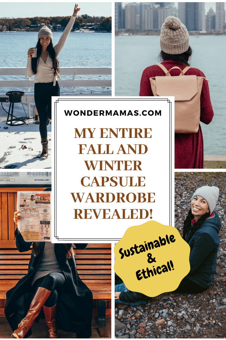 Sustainable & Ethical Capsule Wardrobe