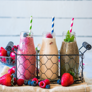low sugar smoothies