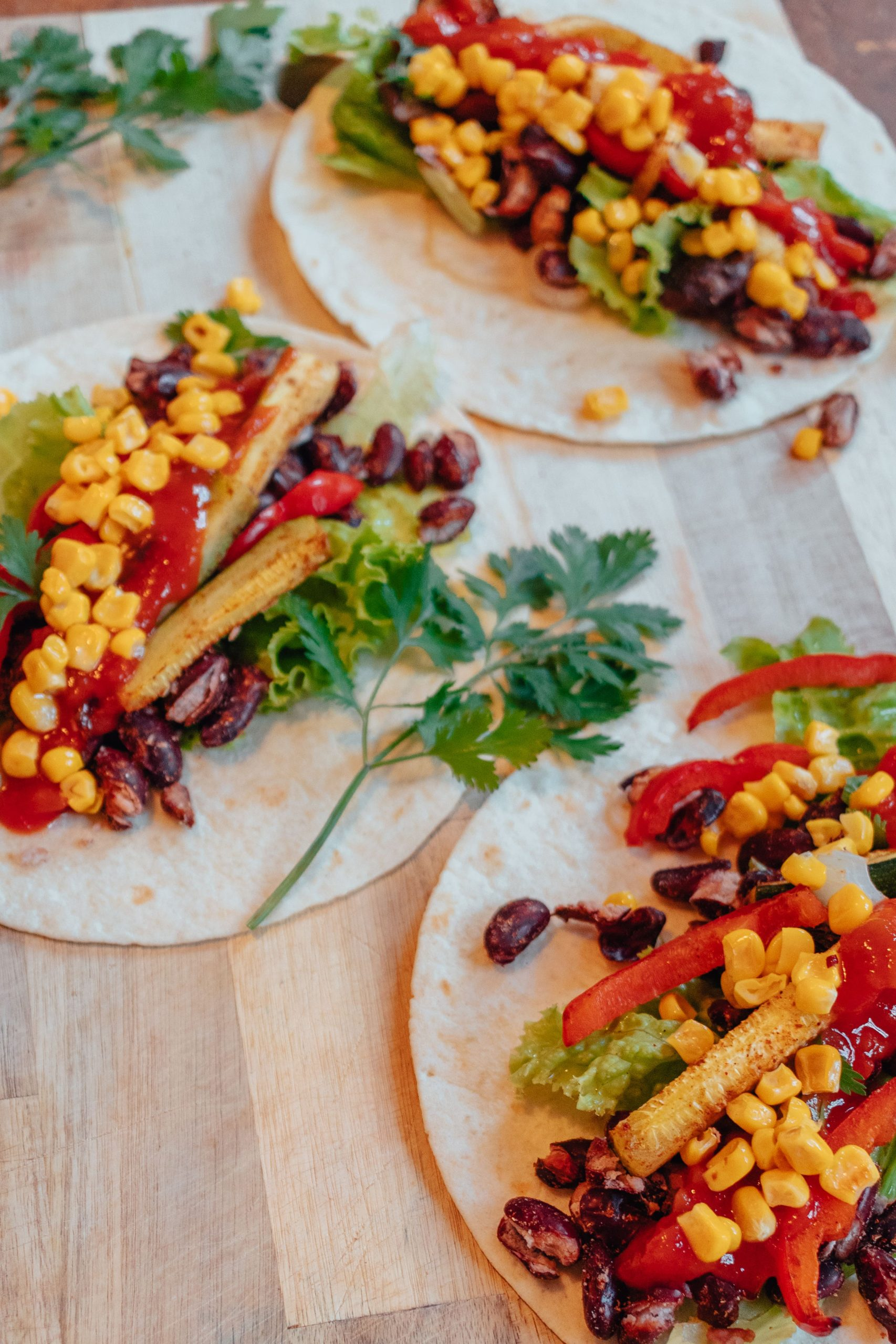 One Tray Healthy Vegan Tacos
