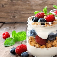 Super Simple Vegan Parfait