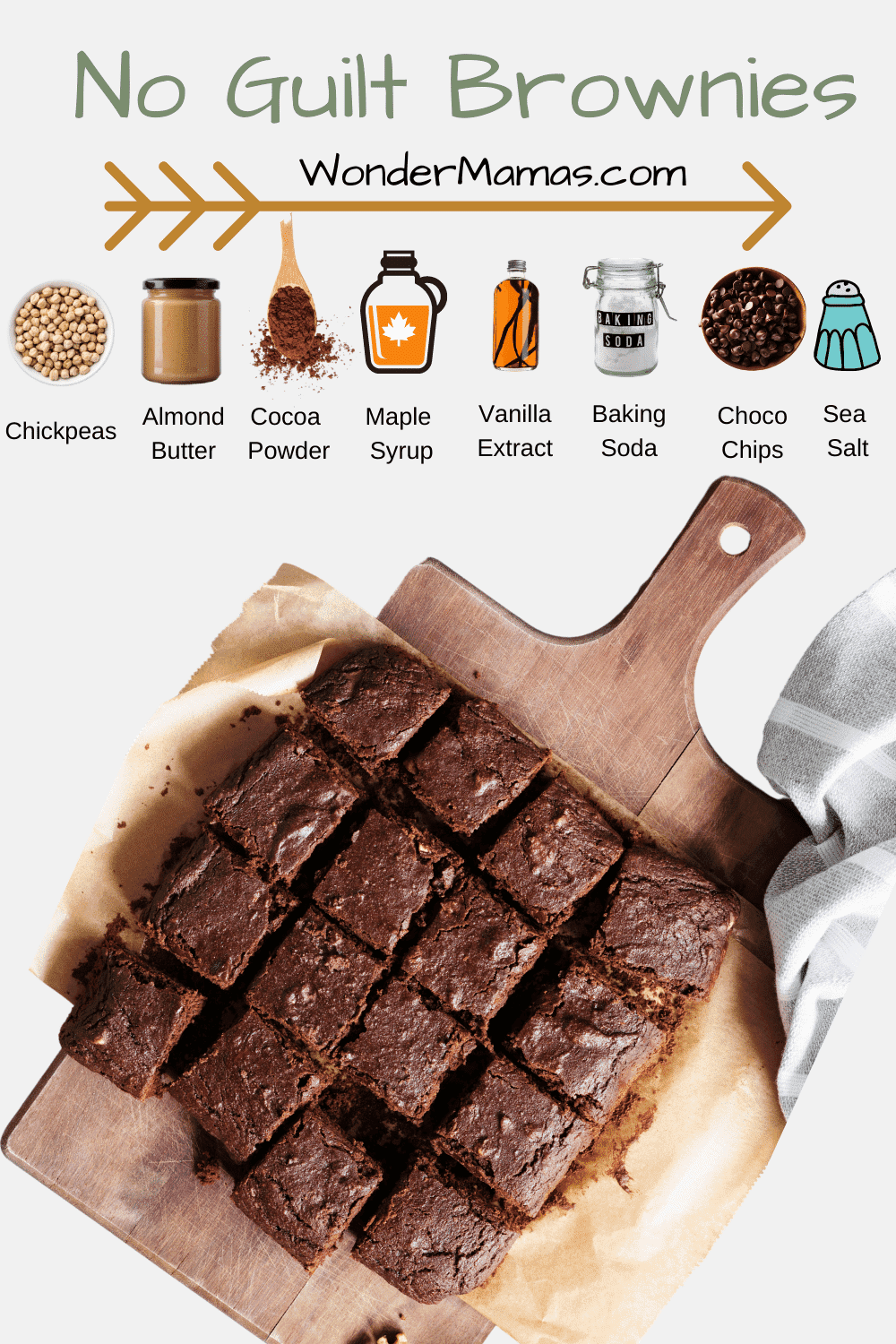 healthy vegan brownies