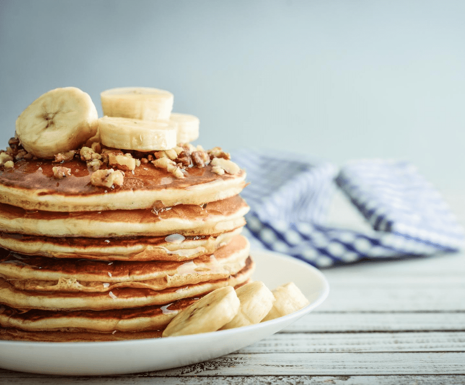Vegan Blender Pancakes