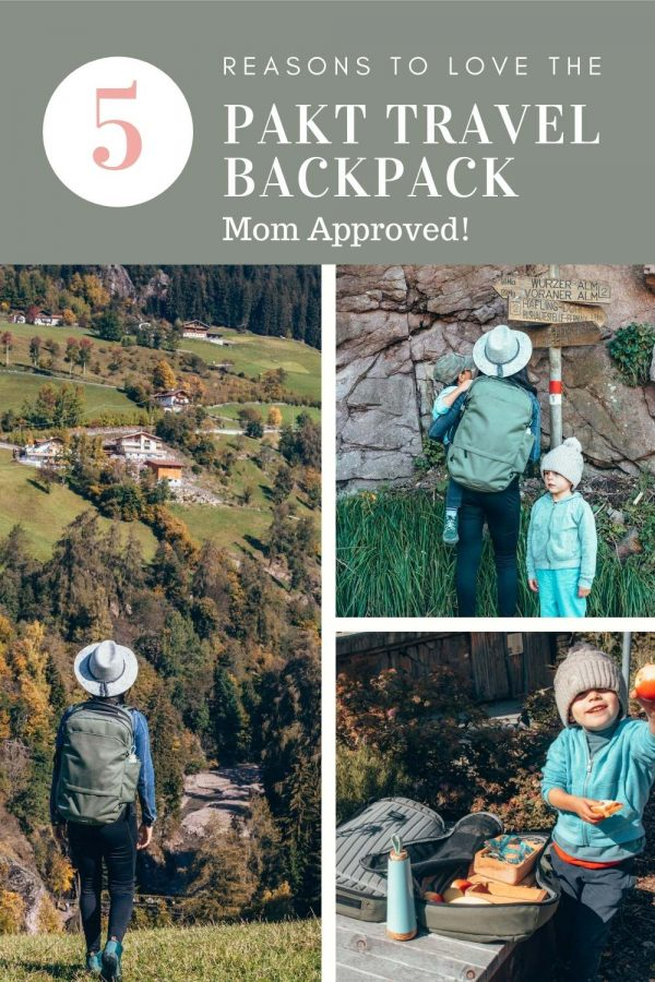 Pakt Travel Backpack