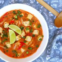 Vegan Curry Noodle Soup