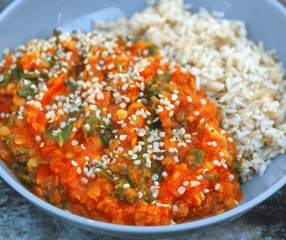 Vegan Spiced Red Lentils