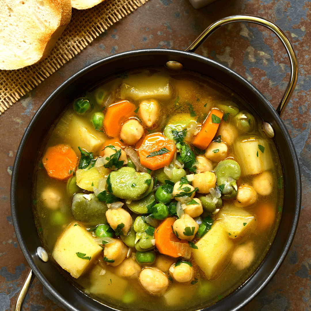 Vegan Chickpea Tater Stew